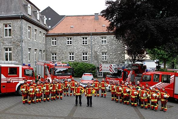 Schnelle Truppe für Tagesalarme. Foto: Prochnow
