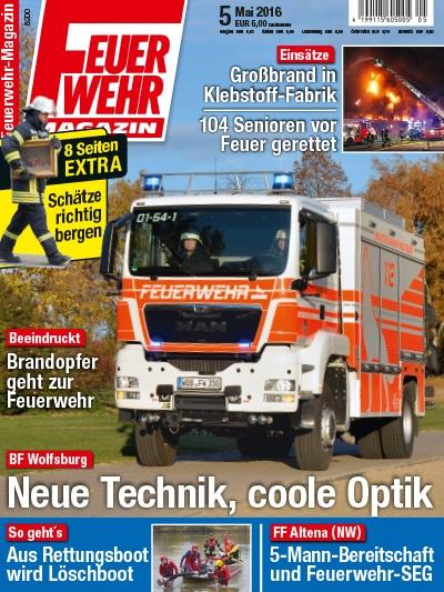 Feuerwehr-Magazin 05/2016