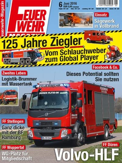 Feuerwehr-Magazin 06/2016