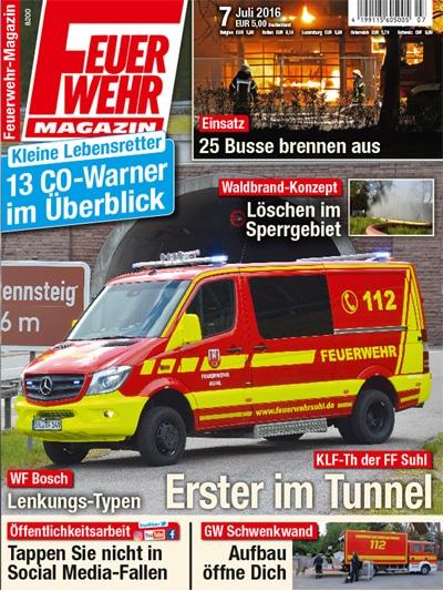Feuerwehr-Magazin 07/2016