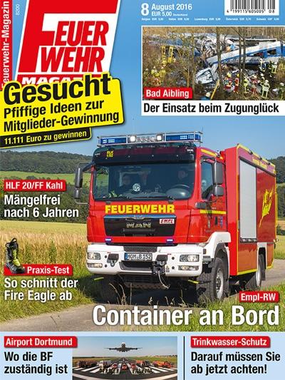Feuerwehr-Magazin 08/2016