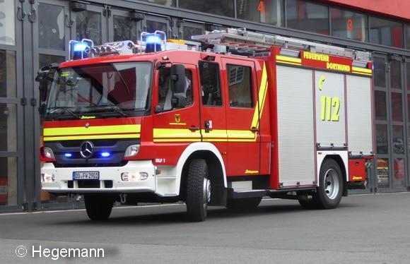 16 solcher HLF 20 stellte die Feuerwehr Dortmund gestern offiziell neu in DIenst. Die Aufbauten fertigte Schlingmann. Als Fahrgestelle dienen Mercedes Atego 1529. Foto: Hegemann