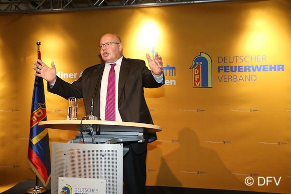 Peter Altmaier bei seiner Ansprache. Foto: DFV