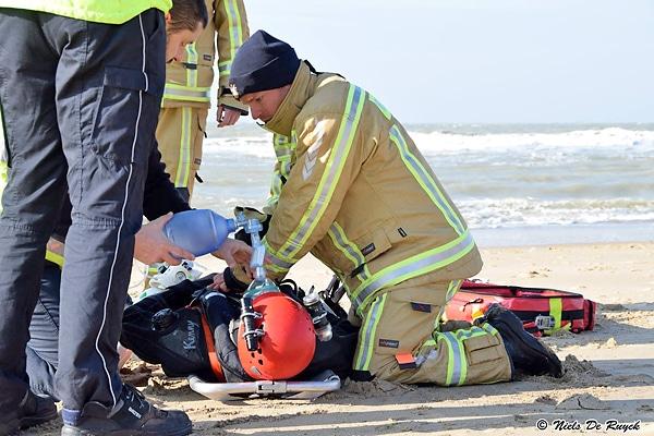 Nach umfangreichen Tests wurde für die belgischen Feuerwehren ein nationaler Standard für Schutzbekleidung geschaffen. Foto: Niels De Ruyck