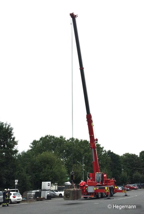 Einen KW 70 wird die BF Dortmund noch in diesem Jahr in Dienst stellen. Aktuell läuft gerade die Ausbildung an dem Fahrzeug. Foto: Hegemann