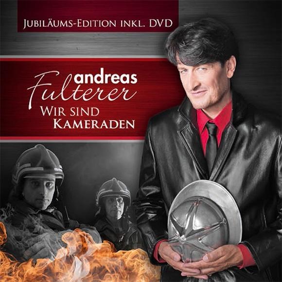 """Mit dem Song """"Wir sind Kameraden"""" wurde Schlagersänder Andreas Fulterer auch in der Feuerwehrwelt bekannt."""