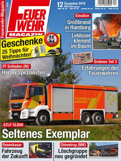 Feuerwehr-Magazin 012/2016