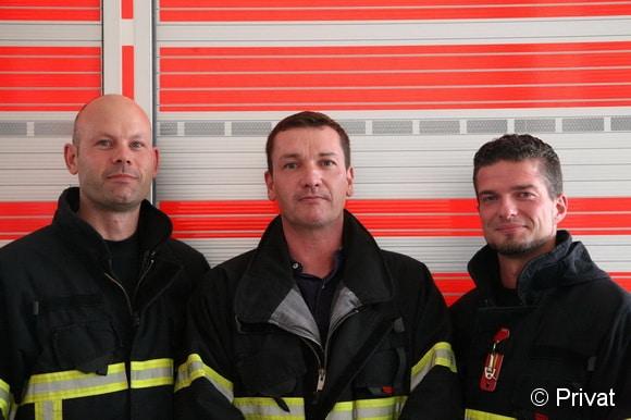 Die Projektgruppe: Chris Wallenstein, André Grese und Sebastian Neuwirth (von links). Foto: privat