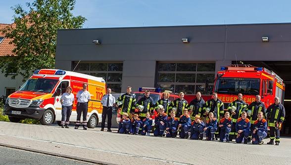 Löschgruppe neu gegründet. Foto: Prochnow