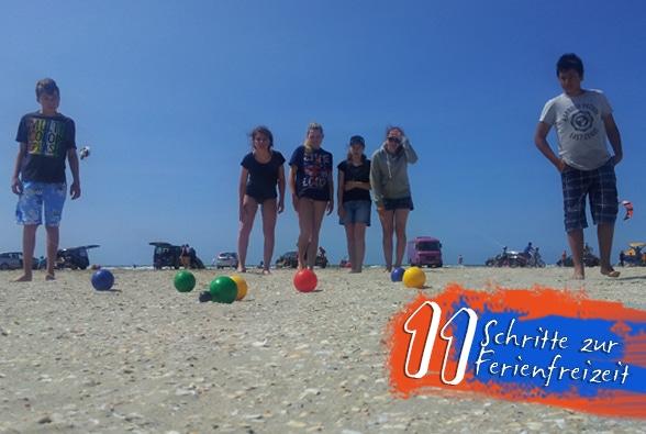 11 Schritte zur Ferienfreizeit. Foto: Patzelt