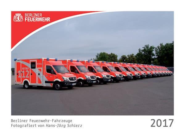 Kalender_Berliner Feuerwehr_Fahrzeuge