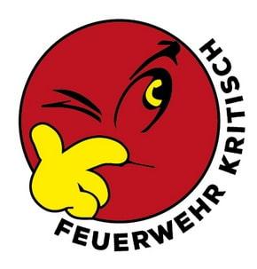 """Mit diesem Logo kennzeichnen wir die Beiträge der Serie """"Feuerwehr kritisch"""" im Feuerwehr-Magazin."""