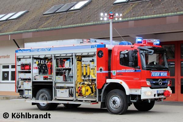 Diesen neuen RW nahm die FF Titisee-Neustadt in Dienst. Walser baute ihn auf einem Mercedes Atego 1629 AF. Foto: Köhlbrandt