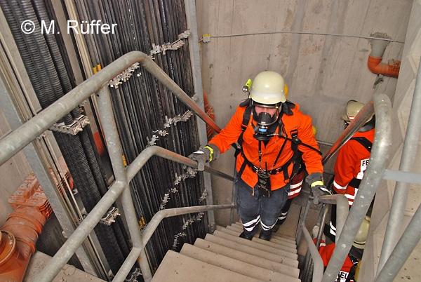 Der Berliner Firefighter Stairrun droht 2017 auszufallen. Symbolfoto: Michael Rüffer
