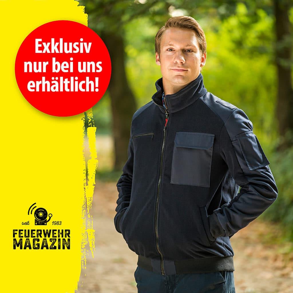 Feuerwehr-Magazin-Fleecejacke