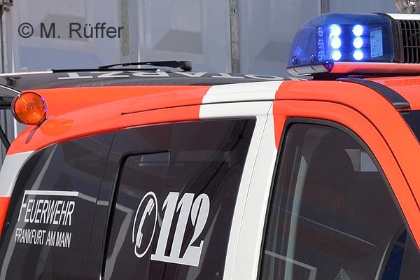 Bei der Frankfurter Feuerwehr gibt es Ärger um ein Alarmfax. Symbolfoto: Michael Rüffer