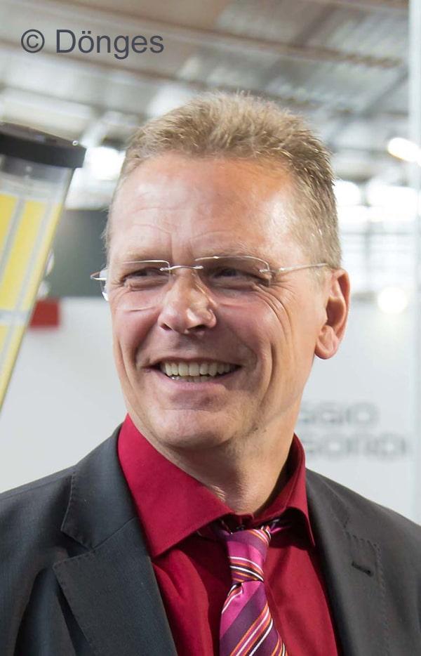 Klaus Trusheim, Vertriebsleiter bei Dönges. Foto: Dönges GmbH & Co. KG