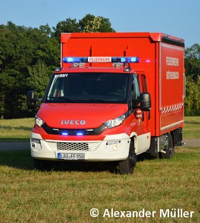Mit dem GW-L ersetzt die Feuerwehr einen VW LT 28 aus dem Jahr 1991. Foto: Alexander Müller