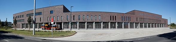 Neue Wache der BF Krefeld Foto: Prochnow