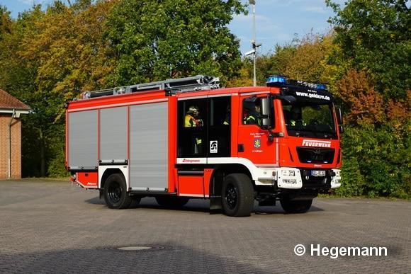 Die FF geldern stellte im Herbst 2016 das erste HLF 20 mit Varus-Aufbau von Schlingmann in Dienst. Foto: Hegemann