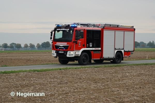 Das erste Kundenfahrzeug: Der neue Varus der FF Geldern. Schlingmann lieferte das HLF 20 im Herbst 2016 nach NRW aus. Foto: Hegemann