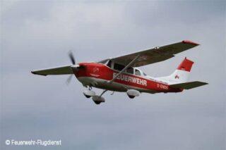 Eine der beiden Cessna 206, die der FFD zurzeit im Dienst hat. Foto: Feuerwehr-Flugdienst
