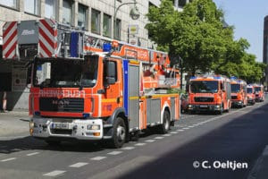 Drehleiter der Feuerwehr Berlin