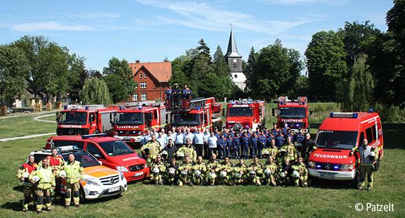 Freiwillige Feuerwehr Falkensee: Mehr als nur der kleine Nachbar Foto: Patzelt