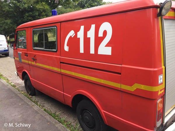 Feuerwehr-Oldtimers VW LT 31
