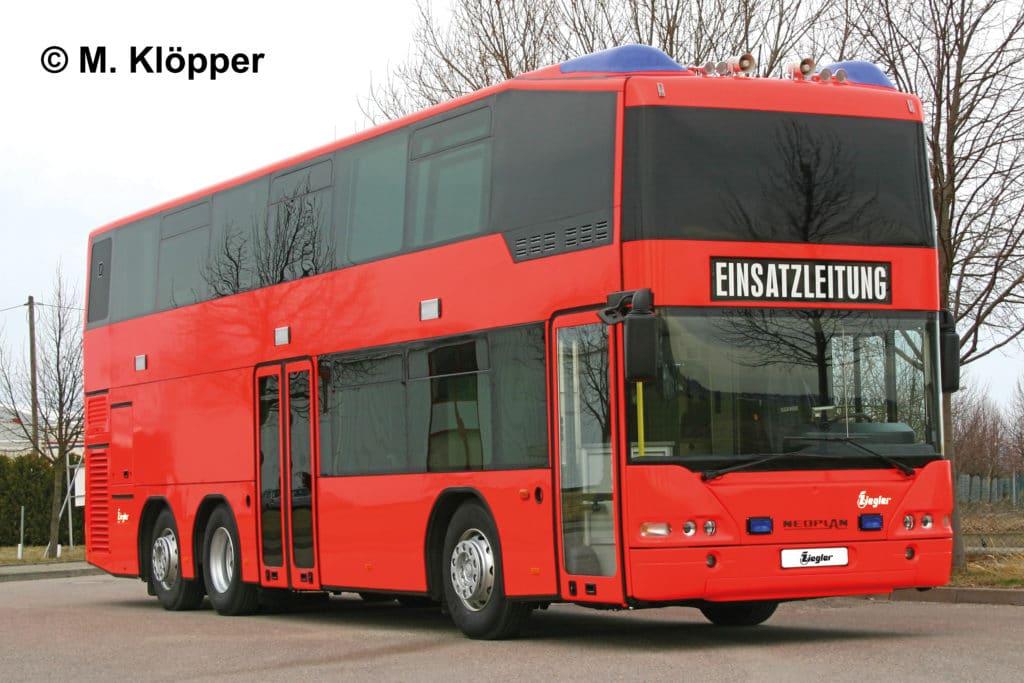 Xxl Kommandozentralen Elw Auf Bussen Feuerwehr Magazin