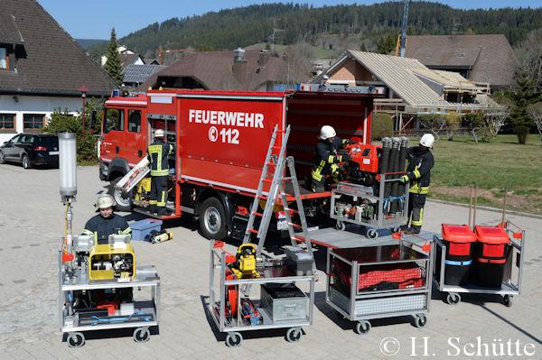 Zum Löscheinsatz mit dem GW Logistik | Feuerwehr-Magazin