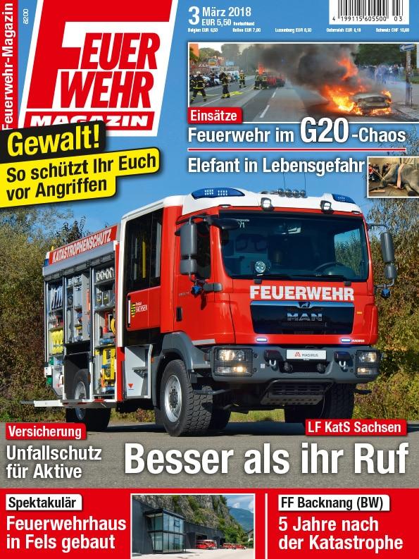 Produkt: Feuerwehr-Magazin 03/2018 Digital