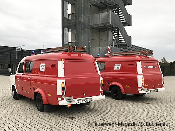 Bei unserem Reportage-Termin präsentierten sich die zwei TSF in einem sehr guten, gepflegten Zustand. Foto: Sven Buchenau