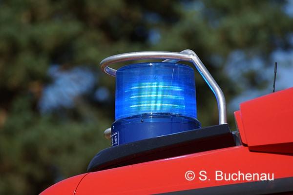 Bei einer Übung in Horst (SH) kippte ein LF um, drei Mitglieder der Jugendfeuerwehr wurden verletzt. Symbolfoto: Sven Buchenau