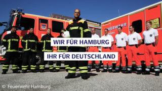 Feuerwehr Hamburg Aufstellung