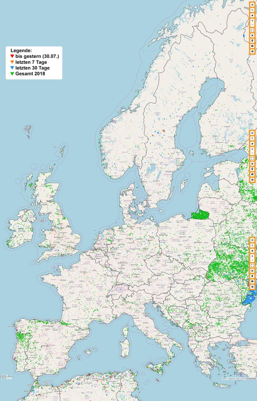 Schweden Waldbrände Karte.Brauchen Deutsche Feuerwehren Löschflugzeuge Feuerwehr Magazin