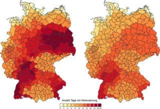 Hitzesystem des DWD