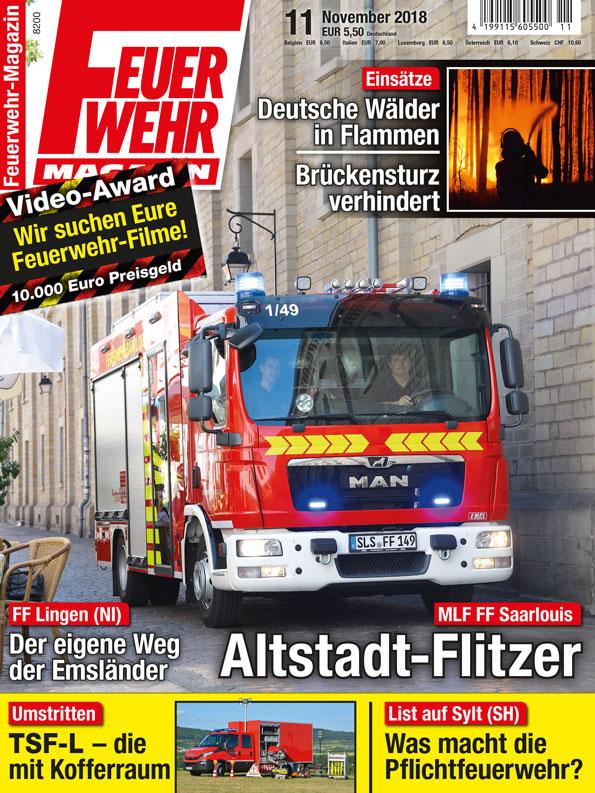 Produkt: Feuerwehr-Magazin Digital 11/2018