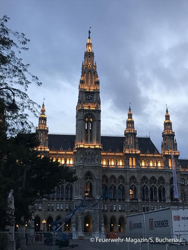 Wache Rathaus der BF Wien