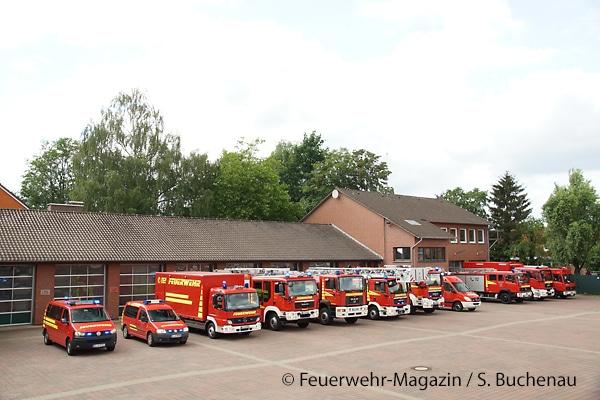 Einsatzfahrzeuge der Freiwilligen Feuerwehr Lingen (Ems)
