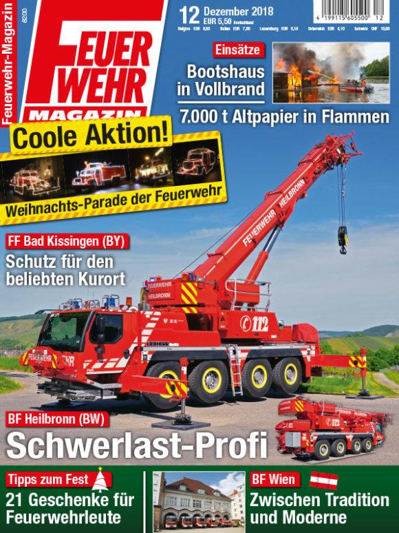Feuerwehr Magazin 12 2018 Feuerwehr Magazin