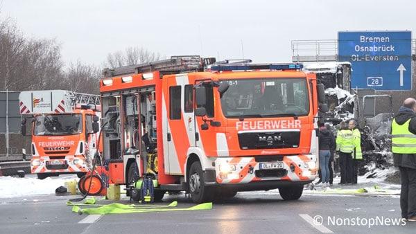 Unfall auf der A28