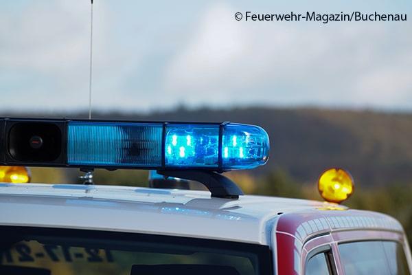 Blaulichtbalken Einsatzfahrzeug