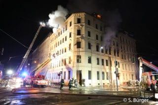 Einsatzbericht Brand in Leipzig