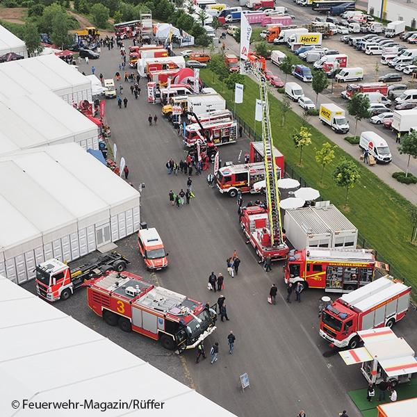 RETTmobil Fulda aus der Luft