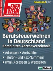 Produkt: Download Liste der Berufsfeuerwehren in Deutschland