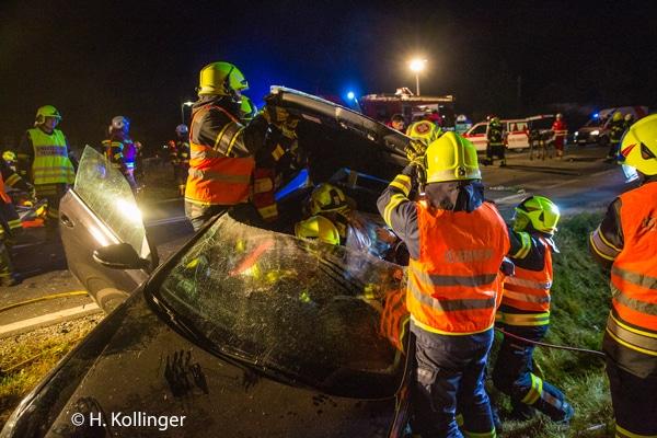 Einsatzberichte Verkehrsunfall