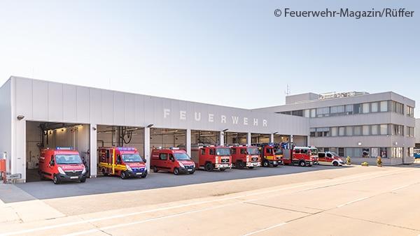 Feuerwache Werkfeuerwehr Opel Rüsselsheim