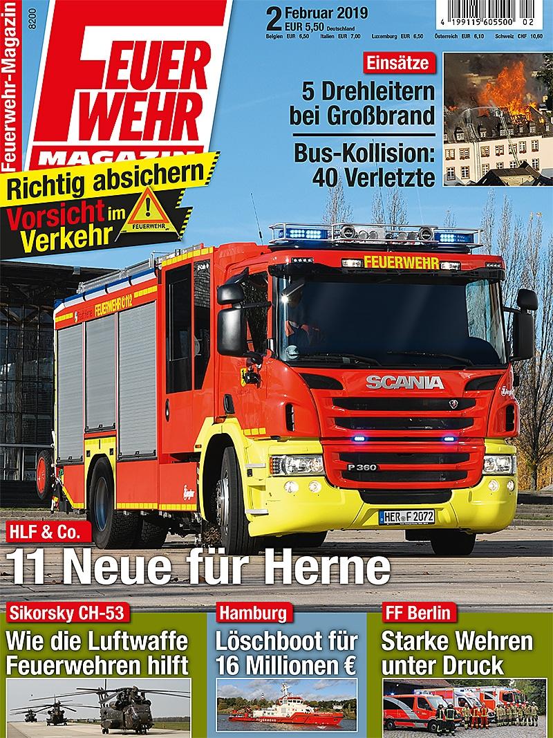 Produkt: Feuerwehr-Magazin 2/2019