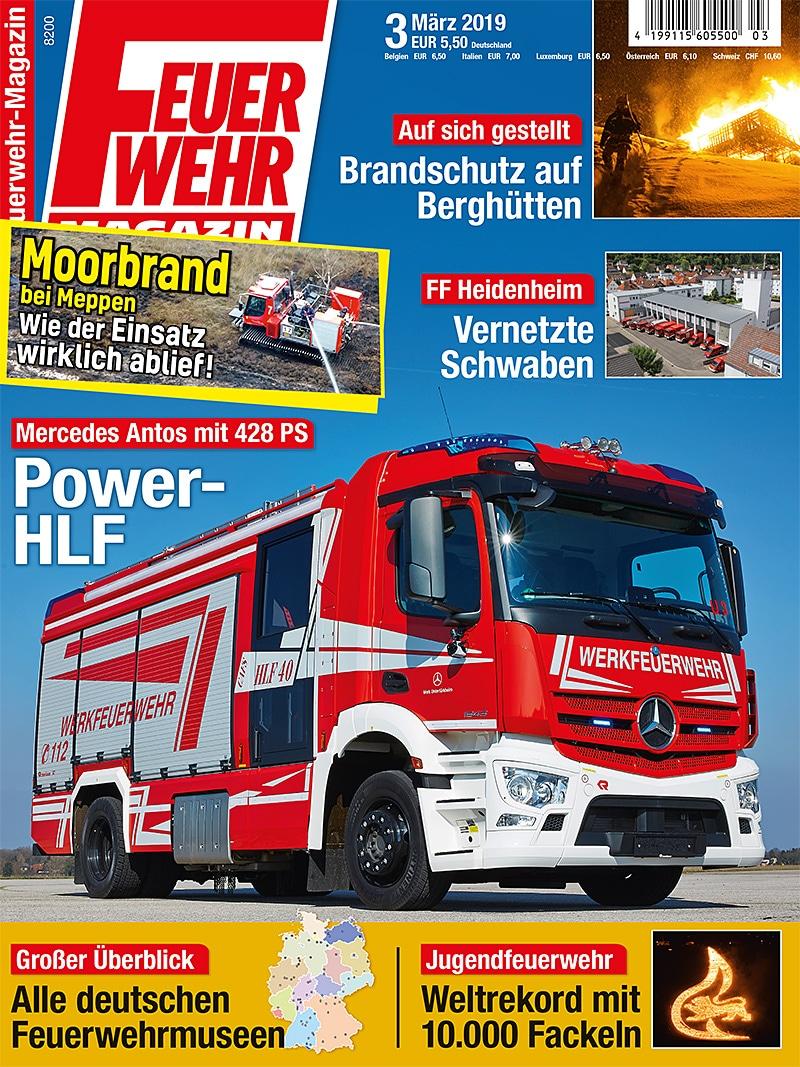 Produkt: Feuerwehr-Magazin 3/2019 Digital